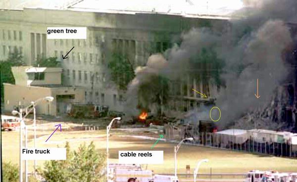 Pentagon Roof Intact
