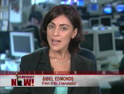 Sibel Edmonds photo courtesy Democracy Now